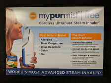 MyPurMist Free Cordless Ultrapure Steam Inhaler w/ Scentpad BRAND NEW