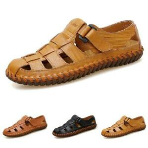 Closed Toe Beach Non-slip Summer Men's Casual Large Size Fisherman Sandals Shoes