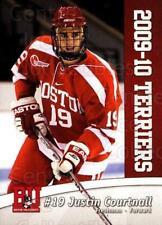 2009-10 Boston University Terriers #18 Justin Courtnall