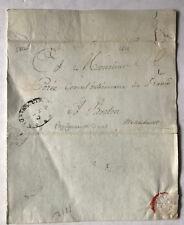 Vorphila USA - Portsmouth 1812 auf Boston Massachusetts - Stempel Oval
