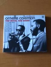 Ornette Coleman Quintet & Quartet - Too Much, Too Soon! ( 2 CD SIGILLATO)