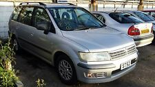Mitsubishi Space Wagon 2.0 *BREAKING* 1 x Front Bumper Bare Silver very Clean