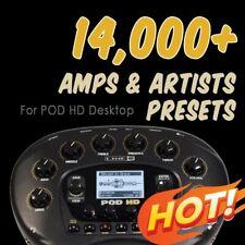 ✪ 14,000+ presets ✪ for Line 6 POD HD Desktop patches bundle collection