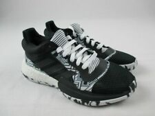 adidas Marquee Boost Low Basketball Shoes Men's Black/White New Multiple Sizes