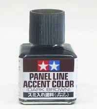 Tamiya 87140 Panel Line Accent Color Dark Brown 40ml