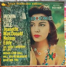 JEANETTE MACDONALD,INDIAN LOVE CALL,VINTAGE LP 45,RECORD IN GREAT CONDITION.