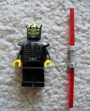 LEGO Star Wars Clone Wars - Rare - Savage Opress w/ Double Blade Lightsaber
