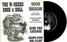 "IVOR BIGGUN - THE WINKERS ROCK 'N' ROLL - 7"" 45 E.P VINYL RECORD w PICT SLV 1981"