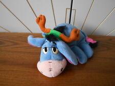 REINDEER HORNS EEYORE character beanie soft toy WINNIE THE POOH Christmas MATTEL