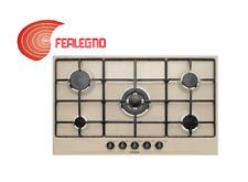 PIANO COTTURA A GAS AVENA 90CM COMANDI FRONTALI 5FUOCHI GT955SA GLEM GAS