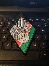 FRENCH FOREIGN LEGION PATCH -- 4th Foreign Regiment Patch -See Store FFL Items