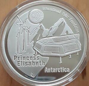 Belgium 10 euro 2007, silver proof, International Polar Year