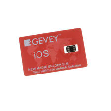GPP LTE 4G+Unlock  Sim Card for iPhone X 8 7 6S 6 Plus 5S SE IOS 11 Red