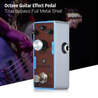 ENO EX OCT-1 Mini Guitar Octave  Effect Pedal with LED Professional