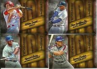 2015 TOPPS 2  HEART OF THE ORDER INSERT SET 20 CARDS TROUT GRIFFEY STANTON PUIG