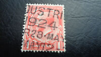Großbritannien, Stamps, 1924, Mi-Nr.: 128, 1 Penny, König Georg, gestempelt