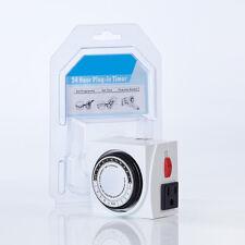 Hydro Analog 24 Hour Plug in Dual 110V Heavy Duty Electrical Grow Light Timer