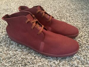 Nike Air Ralston Mid Lite Mens Size 13 Leather Suede Red Casual Shoe Boot Chukka