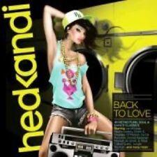 Hed Kandi Back to Love HEDK127 Triple 2013 Card Case CD Album.