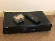 Sony Mds-Je520 Minidisc Player & Recorder Md Mini Disc Unit With Remote