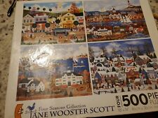 Jane Wooster Scott 4 x 500 Piece Puzzles Four Seasons Collection