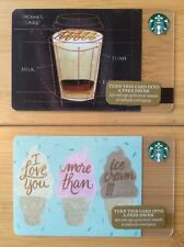 2 Starbucks Coffee I Love You More Than Ice Cream How to make Espresso Gift Card