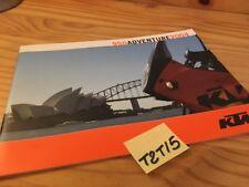 KTM 950 adventure 2004 adventure S catalogue moto prospectus prospekt catalog