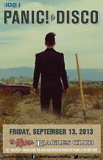 PANIC! AT THE DISCO 2013 MILWAUKEE CONCERT TOUR POSTER- Pop / Alt Rock, Emo Pop