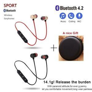 ✅ Sport Im Ohr Kopfhörer Bluetooth Headset MIC Für Huawei Samsung iPhone Xiaomi✅