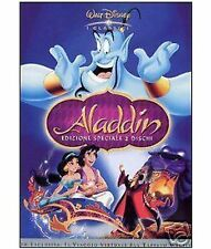 DISNEY DVD Aladdin - ed. cartonata (2 dvd) fuori cat.
