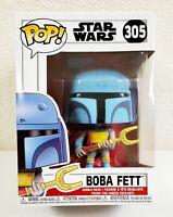 Funko Pop! Star Wars Animated Boba Fett #305 Bobble-Head Vinyl Figure 2019