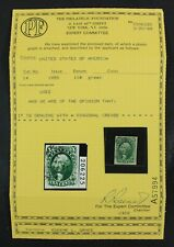 CKStamps: US Stamps Collection Scott#14 10c Washington Used with PF Cert