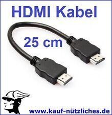 10cm Winzig Kurz HDMI Verlängerungskabel Extender 1.4 HD Tv für Google