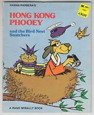 Hanna Barbera HONG KONG PHOOEY And The Bird Nest Snatchers 1976 Rand McNally