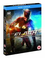 The Flash - Season 2 [Includes Digital Download] [2016] [Region Free] (Blu-ray)