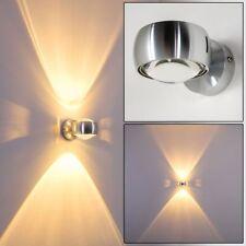 silberne Design Wandleuchte Strahler Lampe Flur Treppen Haus Wohn Schlaf Zimmer
