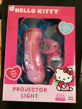 HELLO KITTY PROJECTOR LIGHT WITH 3 KITTY LENS & CARRY ALONG CLIP ~ NEW