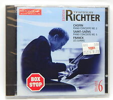 Richter Edition, Vol. 6 - Chopin: Piano Concert No.2; Saint-Saens 5; Franck.....