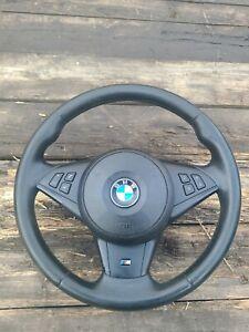 Bmw E60 m-sport Steering Wheel 528i 535i 550i M5