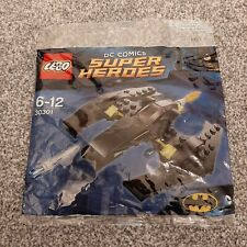 LEGO 30301 Polybag. DC Comics Super Heroes Batman's Batwing. Brand new & sealed.