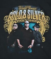 T-SHIRT M MEDIUM PAWN STARS GOLD AND SILVER PAWN HISTORT CHANNEL RICK HARRISON