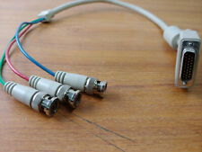 DB26 Male to RGB BNC Male Computer Video Cable - 2 Feet Long