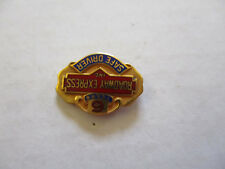 vintage Roadway Express 6yr Trucker Trucking Safety Award Safe Driving Pin