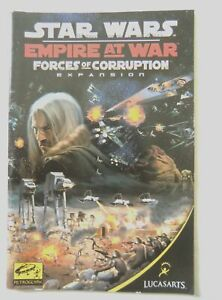 57143 Instruction Booklet - Star Wars Empire At War Forces Of Corruption - PC (2