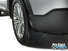 2020 Ford Explorer OEM Genuine Ford Black Molded REAR Splash Guards w/ Ford Logo
