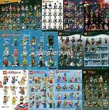 1 LEGO® MINIFIGUREN KOMPLETTSATZ INKL. ALLER BPZ Ihrer Wahl - LEGO-Sonderserien