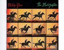 CD PHILIP GLASS the photographer US EX+ 1983