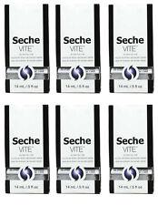 6 bottles of Seche Vite Dry Fast Nail Top Coat 0.5oz / 14ml 83100