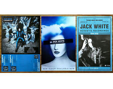 Jack White Boarding House Reach Acoustic Sessions Lazaretto Ltd Ed 3 Posters Lot