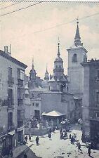 Spain Madrid - Iglesia de San Sebastian old unused postcard